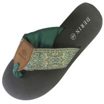 Flip Flops in Aegean Green